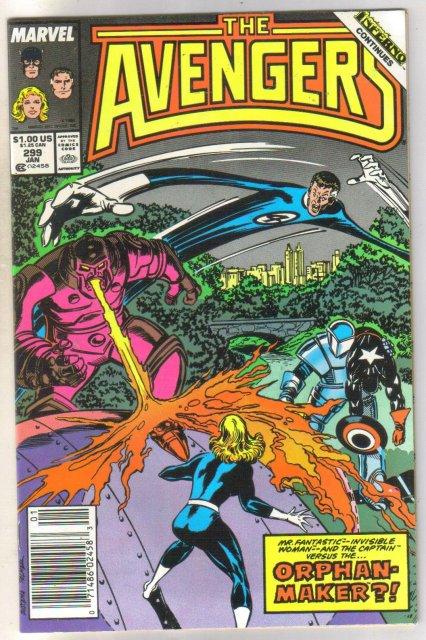 The Avengers #299 comic book near mint 9.4