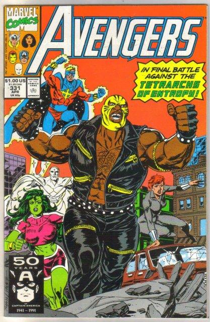 Avengers #331 comic book near mint 9.4