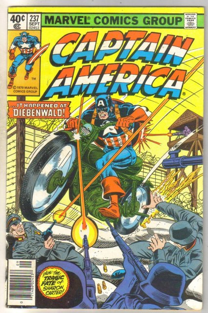 Captain America #237 comic book very fine 8.0