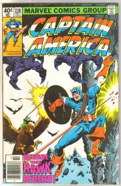 Captain America #238 comic book very fine 8.0