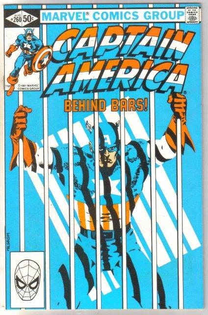 Captain America #260 comic book near mint 9.4e 8.0