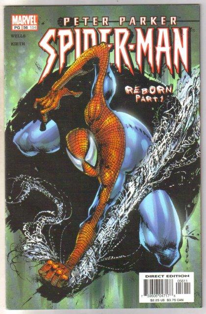 Peter Parker Spider-man #154 comic book  mint 9.8
