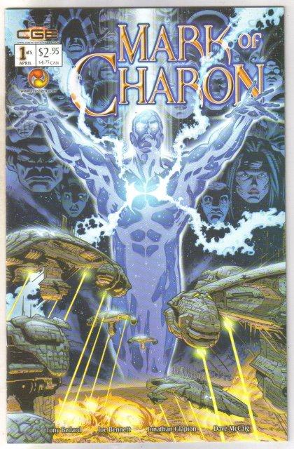 Mark of Charon #1 comic book  mint 9.8