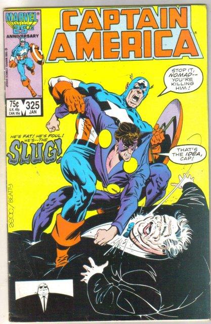 Captain America #325 comic book near mint 9.4