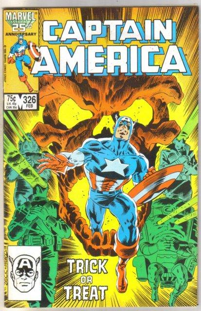 Captain America #326 comic book near mint 9.4