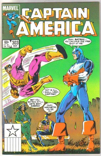 Captain America #303 comic book near mint 9.4