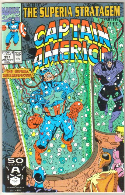 Captain America #391 comic book near mint 9.4