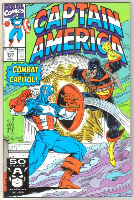 Captain America #393 comic book near mint 9.4