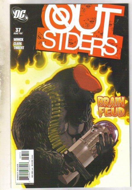 Outsiders #37 comic book mint 9.8