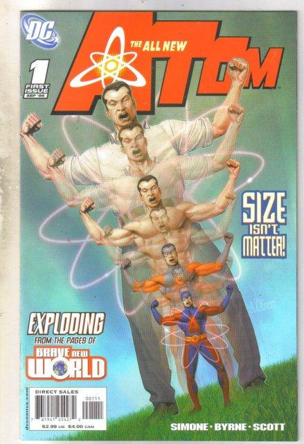 All New Atom #1 comic book mint 9.8
