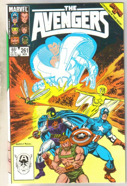 The Avengers #261 comic book mint 9.8