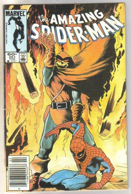 Amazing Spider-man #261 comic book near mint 9.4