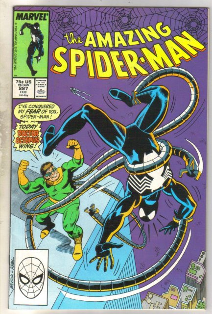 Amazing Spider-man #297 comic book near mint 9.4
