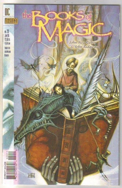 Books of Magic #20 comic book near mint 9.4