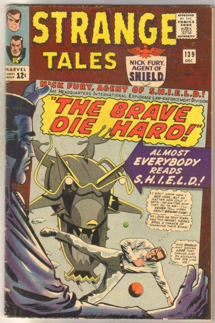 Strange Tales #139 very good/fine 5.0