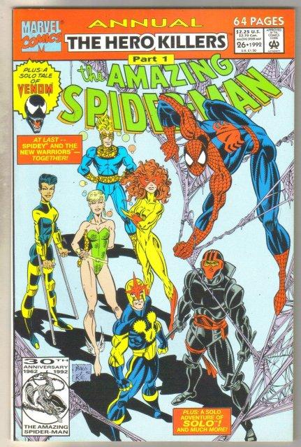 Amazing Spider-man annual #26 comic book mint 9.8