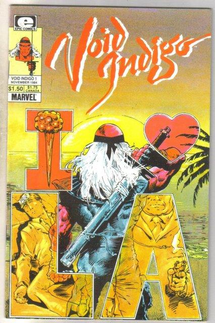Void Indigo #1 comic book very fine 8.0
