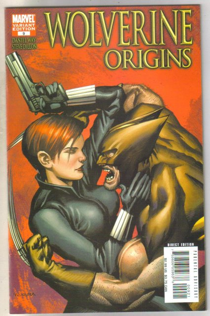 Wolverine Origins #9 variant edition  comic book near mint 9.4