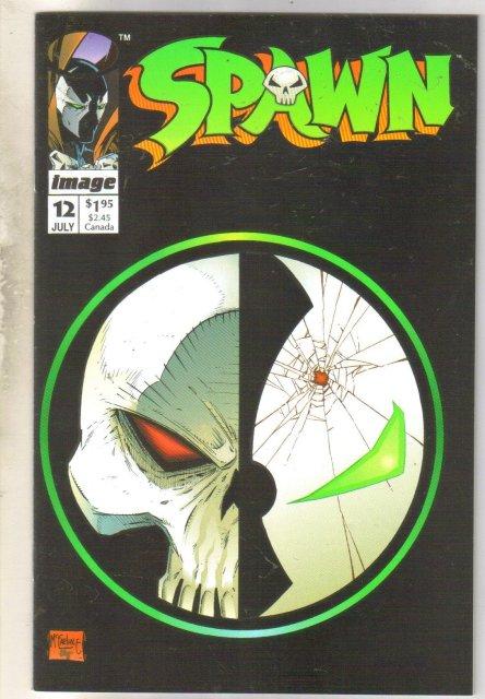 Spawn #12 comic book very fine 8.0