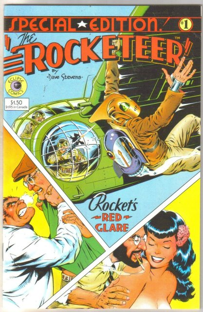 The Rocketeer Special Edition #1 comic book near mint 9.4