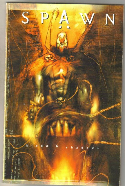 Spawn Blood and Shadows trade paperback 1st print mint 9.8