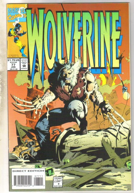 Wolverine #77 comic book near mint 9.4