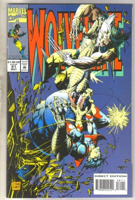 Wolverine #81 comic book near mint 9.4