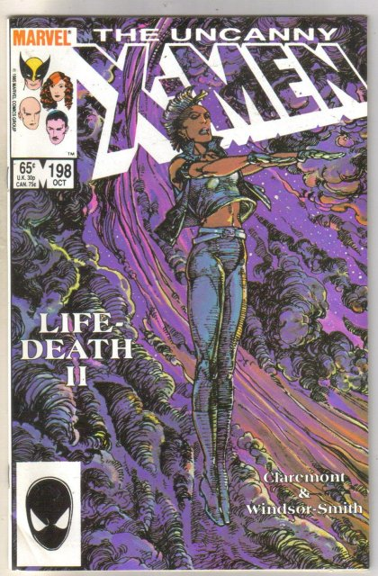 Uncanny X-men #198 comic book near mint 9.4