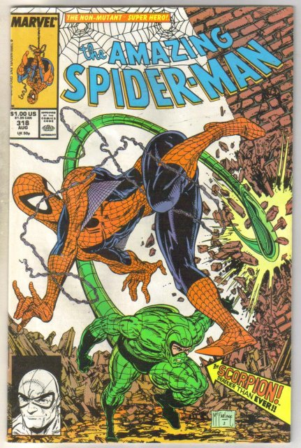 Amazing Spider-man #318 comic book very good 4.0