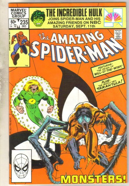 Amazing Spider-man #235 comic book near mint 9.4