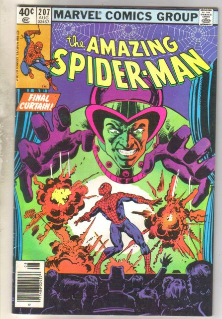 Amazing Spider-man #207 comic book fine 6.0