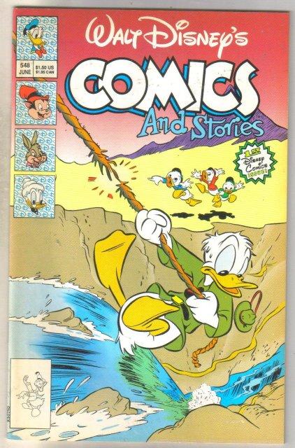 Walt Disney's Comics and Stories #548 comic book near mint 9.4