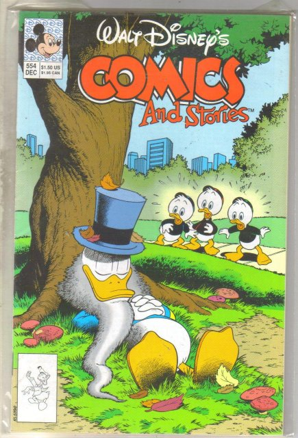 Walt Disney's Comics and Stories #554 comic book near mint 9.4