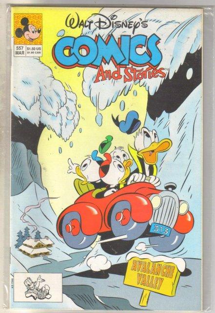 Walt Disney's Comics and Stories #557 comic book near mint 9.4