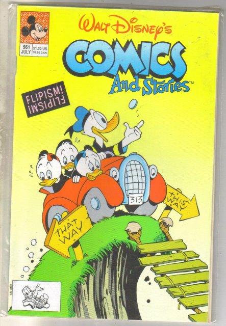 Walt Disney's Comics and Stories #561 comic book near mint 9.4