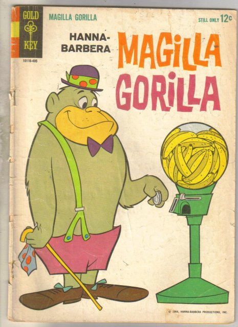 Hanna-Barbera Magilla Gorilla #1 comic book good/very good 3.0