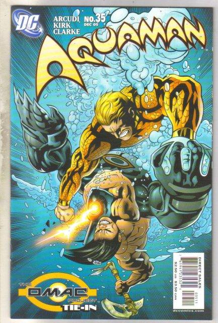 Aquaman #35 comic book near mint 9.4