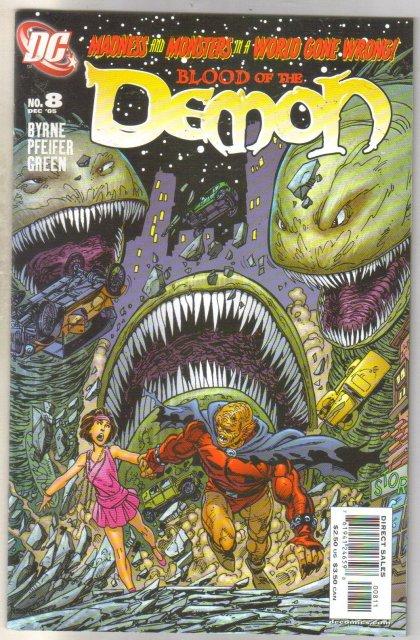 Blood of the Demon #8 comic book near mint 9.4