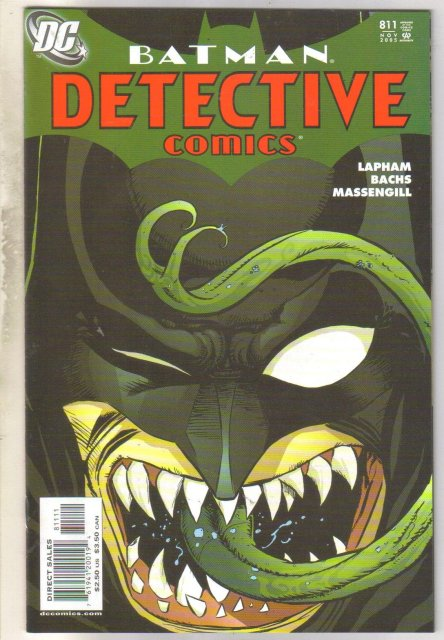 Batman Detective Comics #811 comic book near mint 9.4