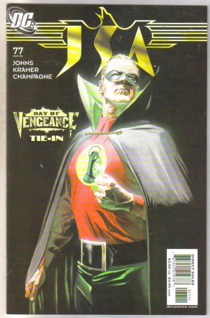 JSA #77 comic book near mint 9.4
