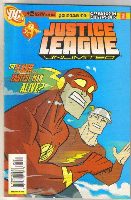 Justice League Unlimited #12 comic book near mint 9.4