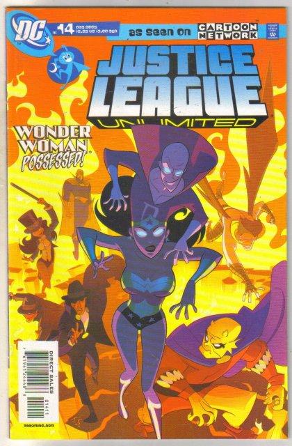 Justice League Unlimited #14 comic book near mint 9.4