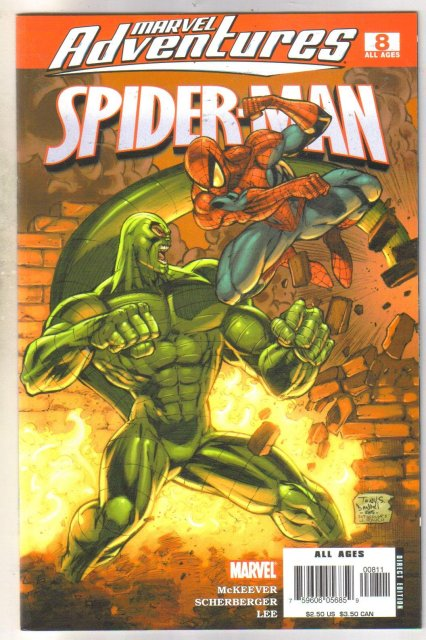 Marvel Adventures #8 Spider-man comic book near mint 9.4