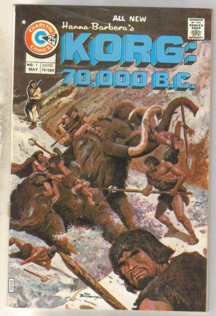 Korg: 70,000 b.c. comic book very fine 8.0