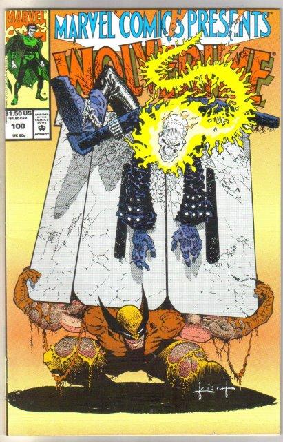Marvel Comics Presents #100 Wolverine comic book near mint 9.4