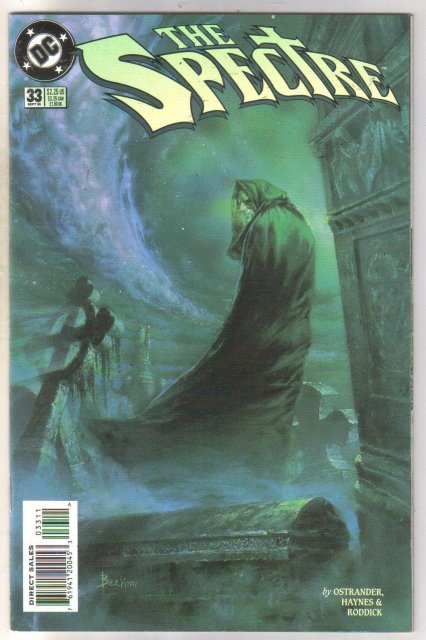 Spectre #33 comic book mint 9.8
