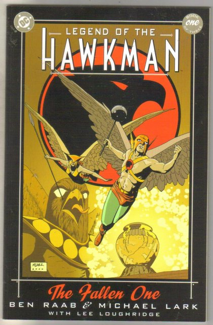Legend of the Hawkman book one comic book mint 9.8