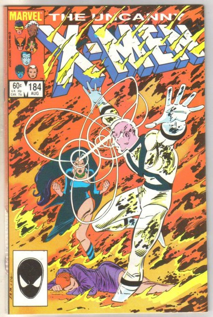 Uncanny X-men #184 comic book near mint 9.4