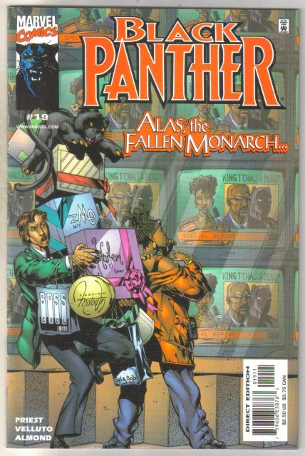Black Panther #19 comic book mint 9.8