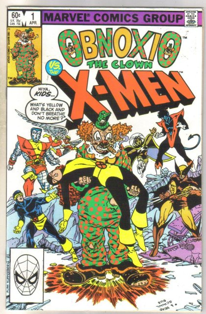 Obnoxio the Clown X-men #1 comic book mint 9.8